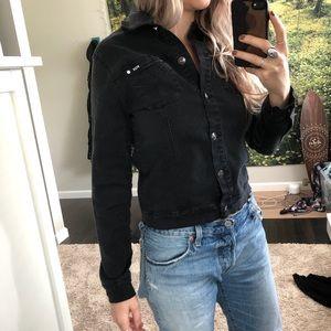 Fox racing jean jacket